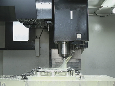 Precise machining section